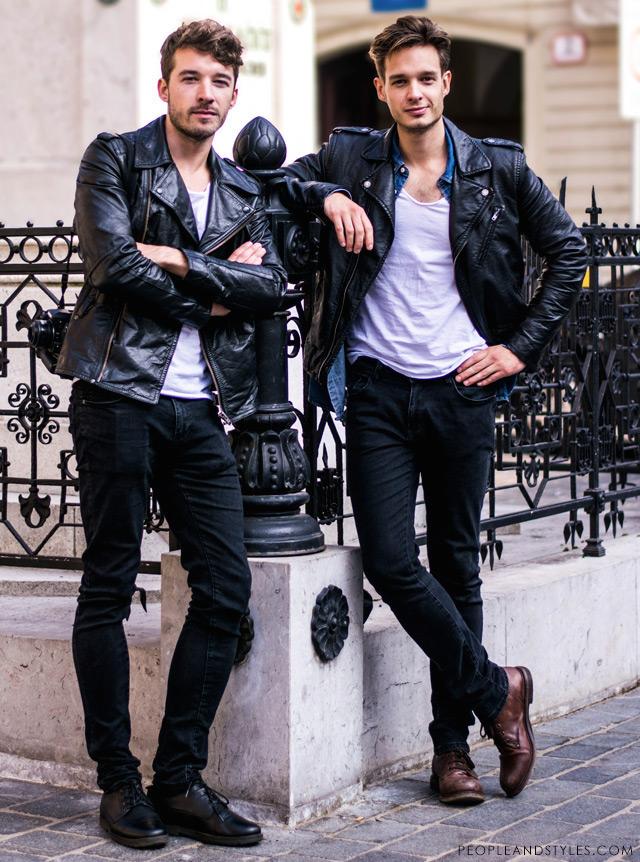 Cute guys, nice style: John Pavlish & Marko Costantini