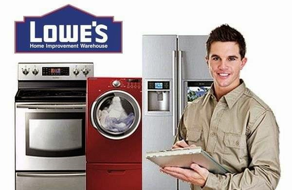 Lowe's Appliance Repair Service for all types of electronic appliances