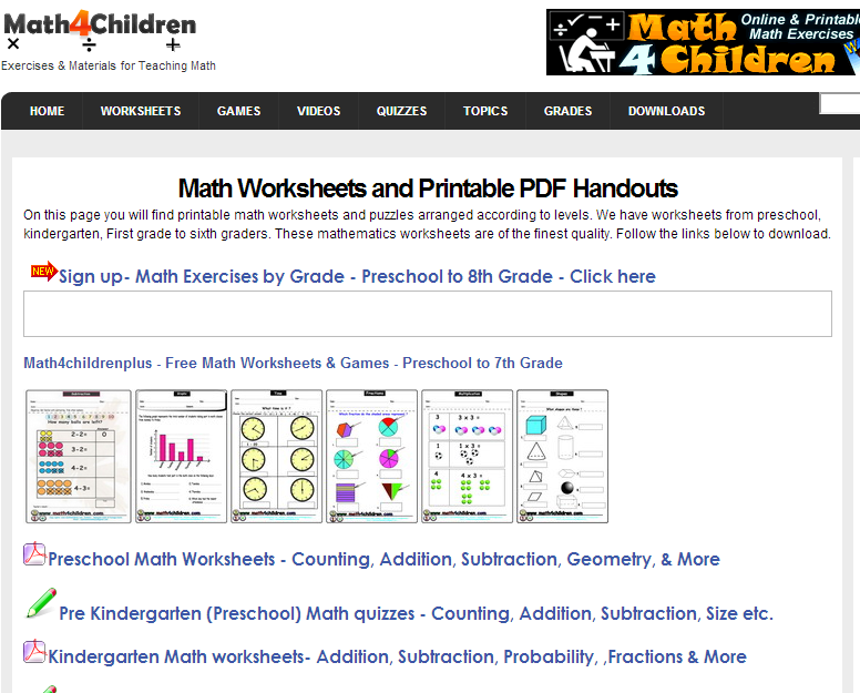 math worksheet : learning never stops 56 great math websites for students of any age : Aaa Math Worksheets