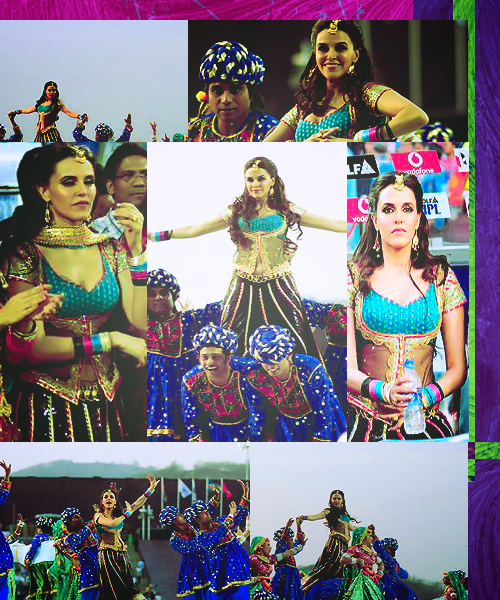 Neha Dhupia IPL Performance - Neha Dhupia IPL Performance in a Rajastani look