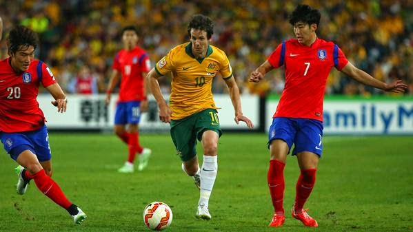 اهداف مباراة كوريا الجنوبية و أستراليا 1-2 نهائى كأس الأمم الآسيوية  South Korea vs Australia