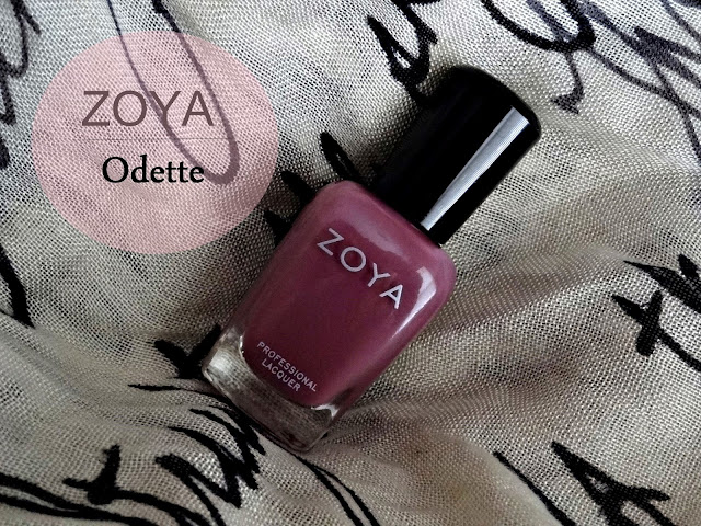 ZOYA Naturel Collection Nail Polish in Odette Review, Photos & Swatches
