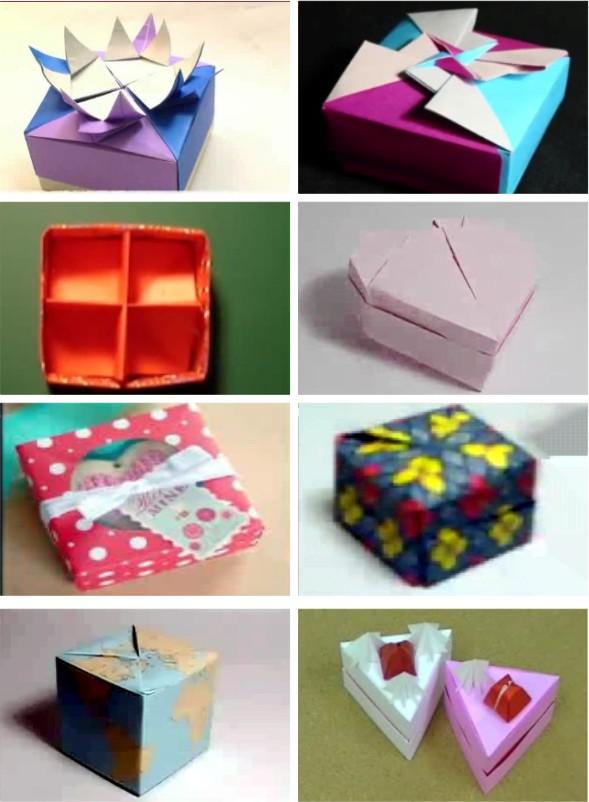 Paper Box Vol 1, Panduan membuat aneka box yang unik dan