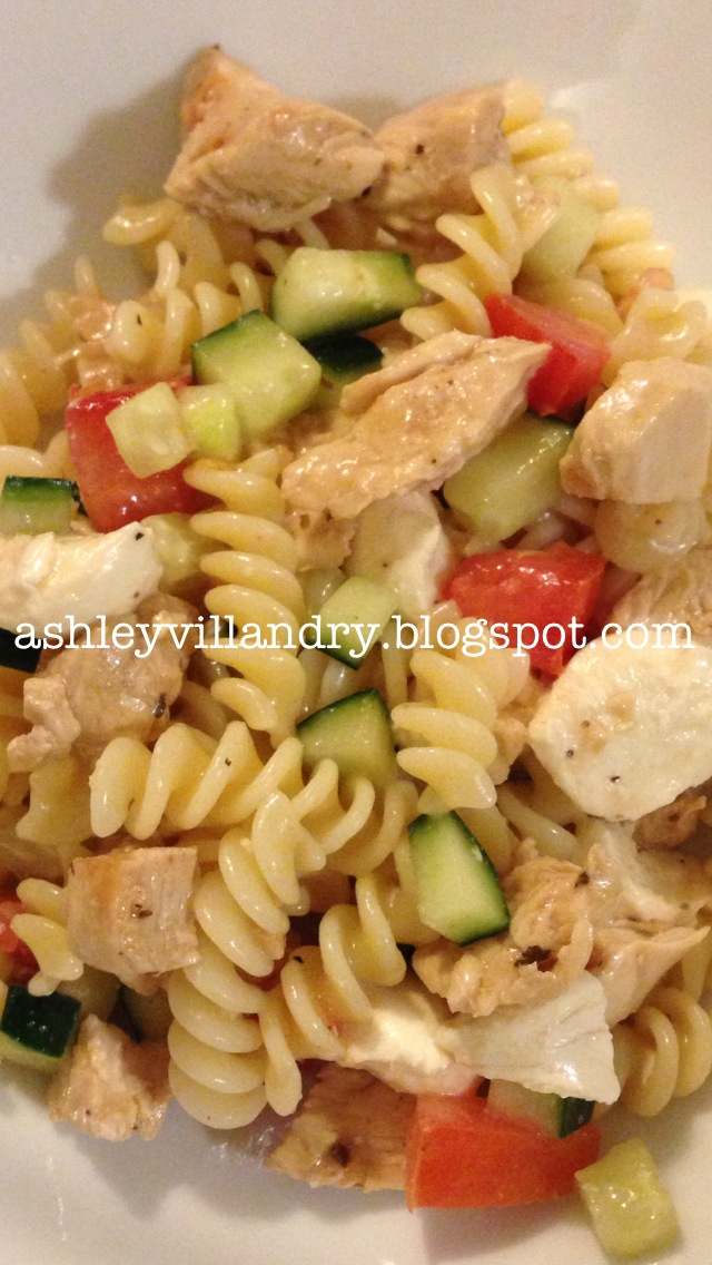 The Healthy Life: Mediterranean Pasta Salad