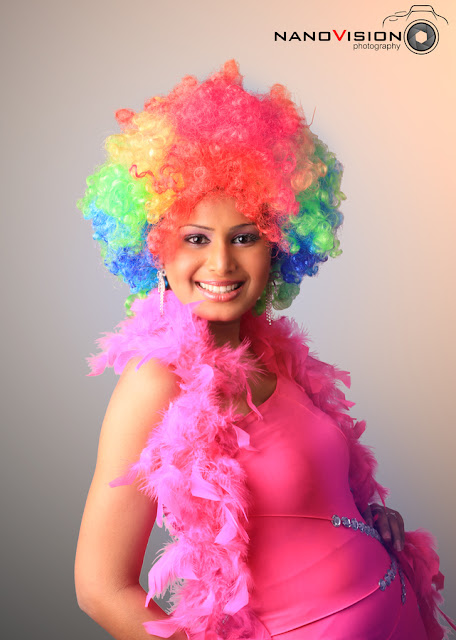 Rainbow Hair Girl