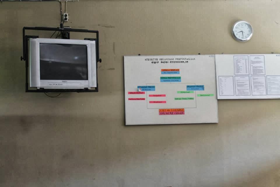 TV :  LIBRARY SMK PGRI Sukoharjo