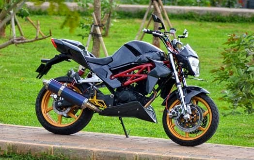 Modifikasi Honda Tiger Revo