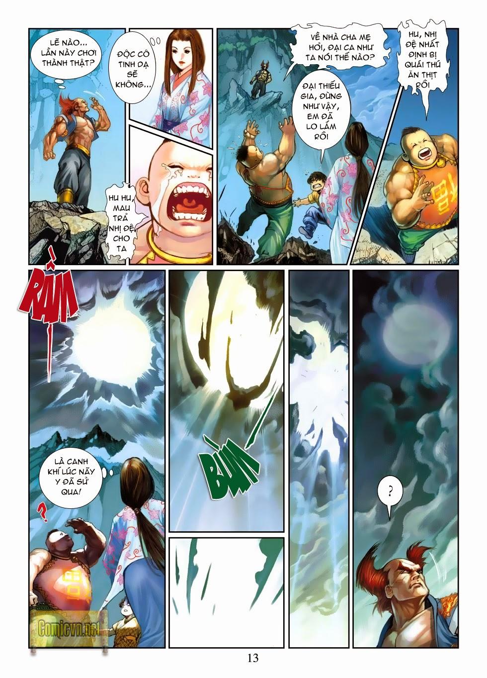 Thần Binh Tiền Truyện 4 - Huyền Thiên Tà Đế chap 3 - Trang 13