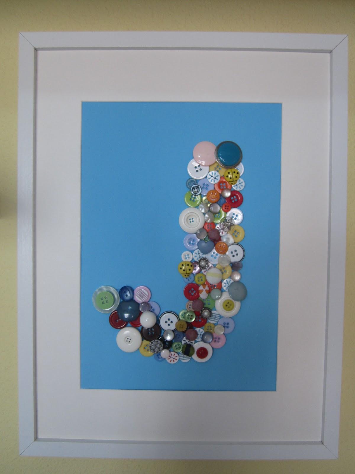 Canastillas rosita cuadros de botones - Cuadros con botones ...
