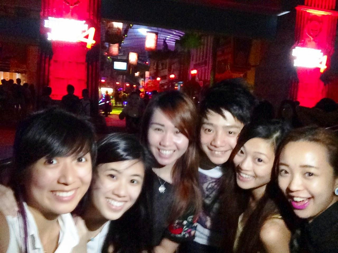 Universal Studios Singapore Halloween Night 4 - Kaiting Hearts