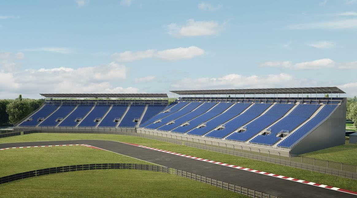Kaiser sports m xico siguen los cambios en el hermanos for Puerta 2 autodromo hermanos rodriguez