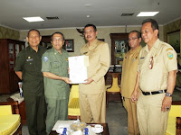 Wagubsu Serahkan Telegram Rahasia, Syaiful Bahri Sebagai Plh Walikota Medan