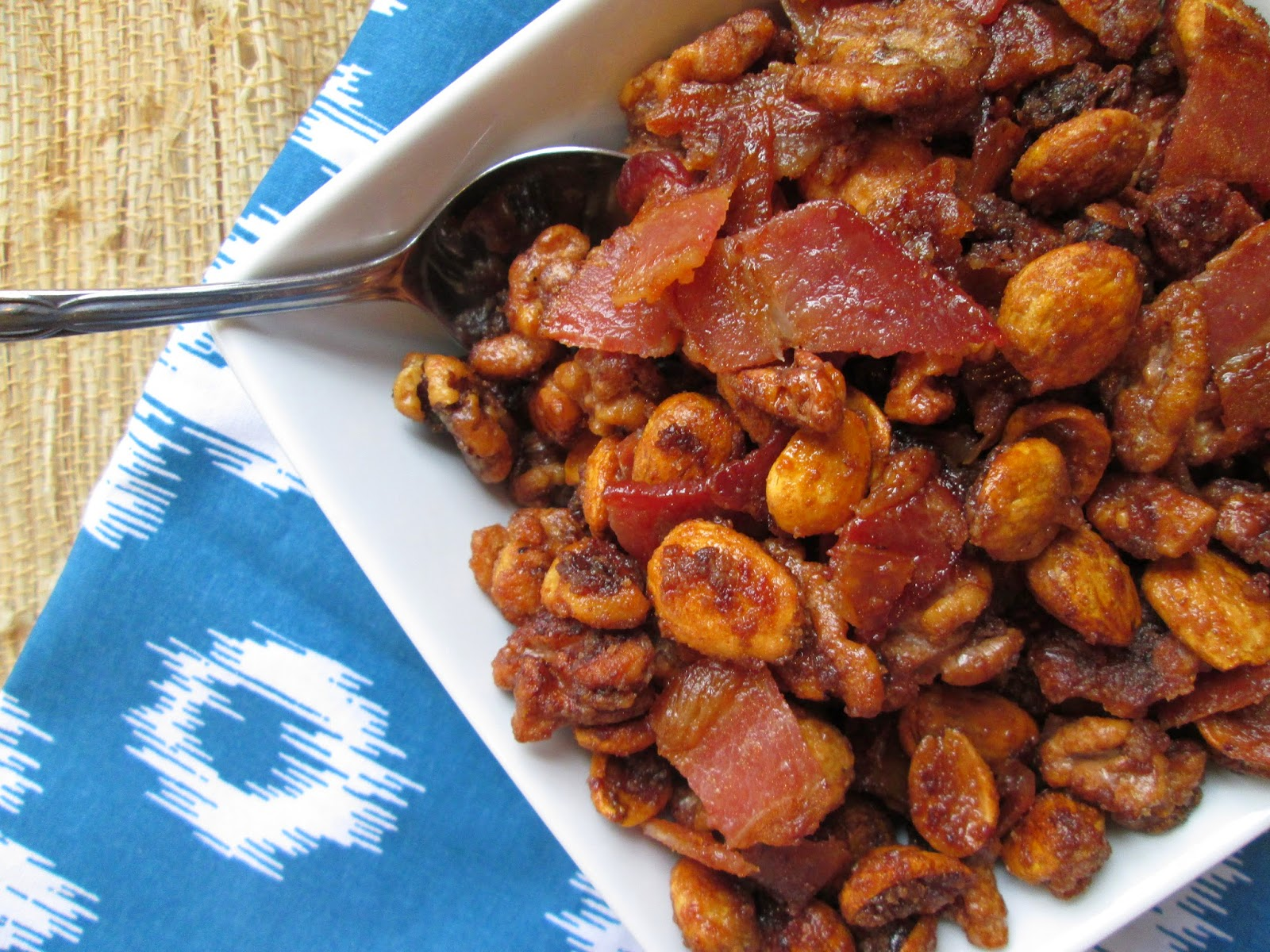 Stirring the Pot: Sweet and Salty Bacon and Nuts