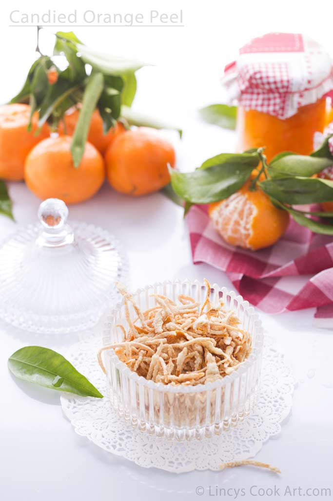 Candied Orange peel recipe