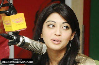 Pranitha Cute at Radio Mirchy
