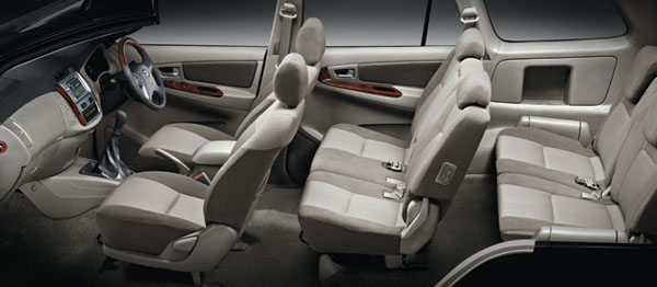 Sejarah toyota kijang dari masa ke masa part 4 beat that for Innova interior 8 seater