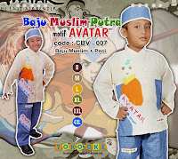 baju muslim anak keren dan unik