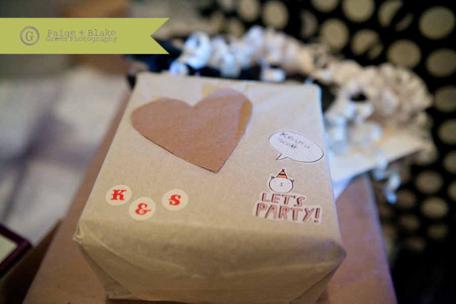 Tustin Brewery Wedding Reception, Brown Paper Present, weddings by Paige and Blake Green