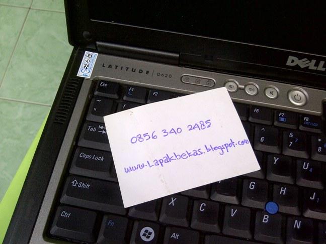 Laptop Dell Latitude D620 Core 2 Duo Batre 2 Jam