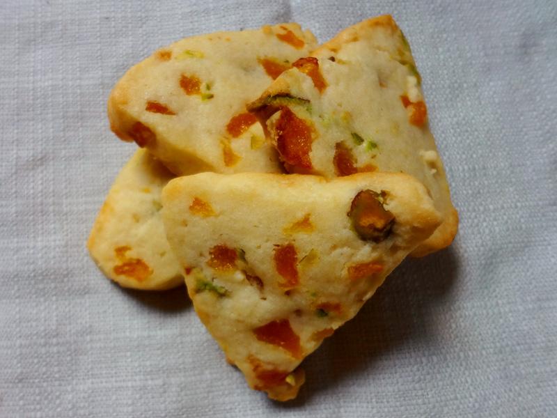 Apricot-Pistachio Layered Icebox Cookies Recipe — Dishmaps