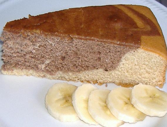 Torta alle banana e cacao Anna Moroni