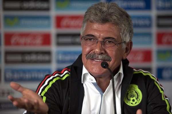 Ricardo Tuca Ferretti, directo técnico interino de la Selección mexicana de futbol. 2015 -  Ximinia