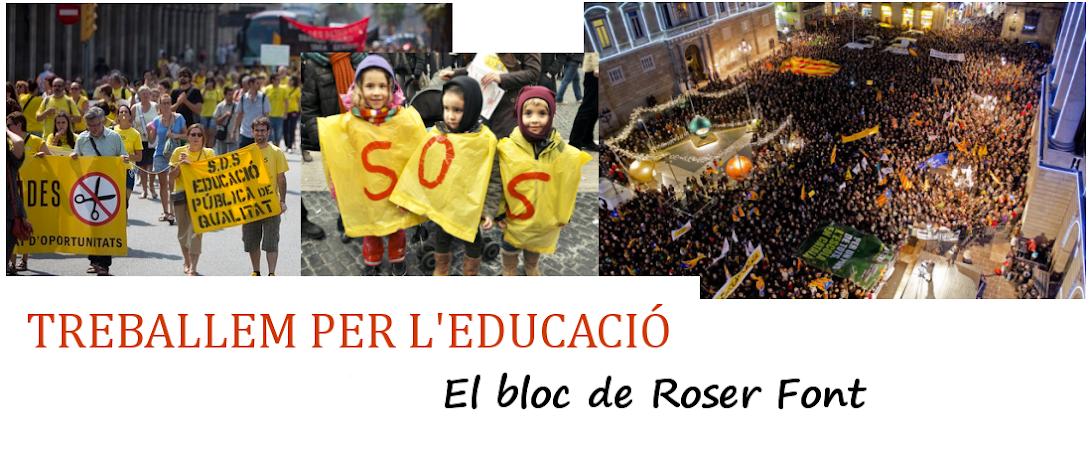 Roser Font  - Treballem per l'educació