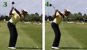 การรักษาแนวสวิง Golf Swing