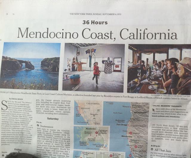 Mendocino Coast CA