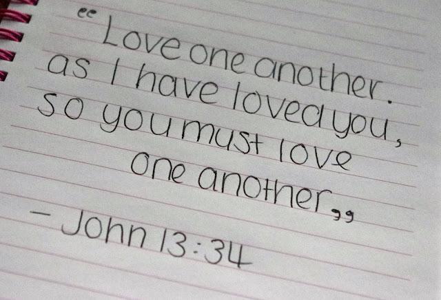 Bible Quote John 13:34