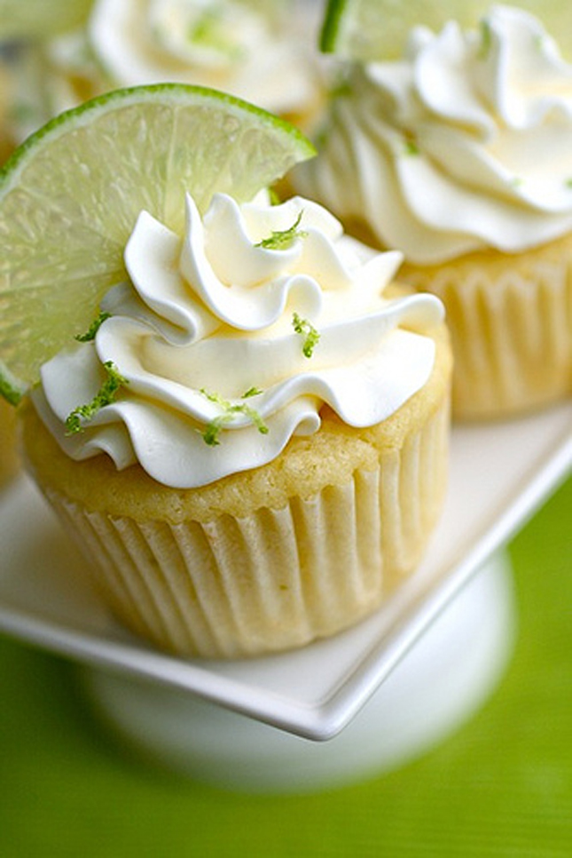 Margarita Cupcakes Recipe — Dishmaps