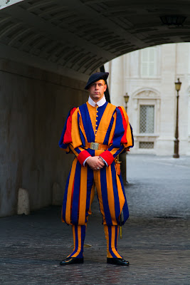 Member of the Swiss Guard - Vatican City