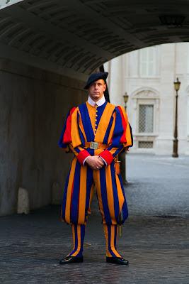 Member of the Swiss Guard - Vatican City