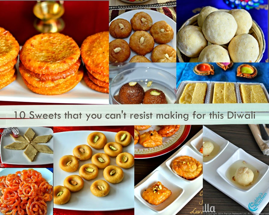 10 Sweets that you can't resist making for this Diwali