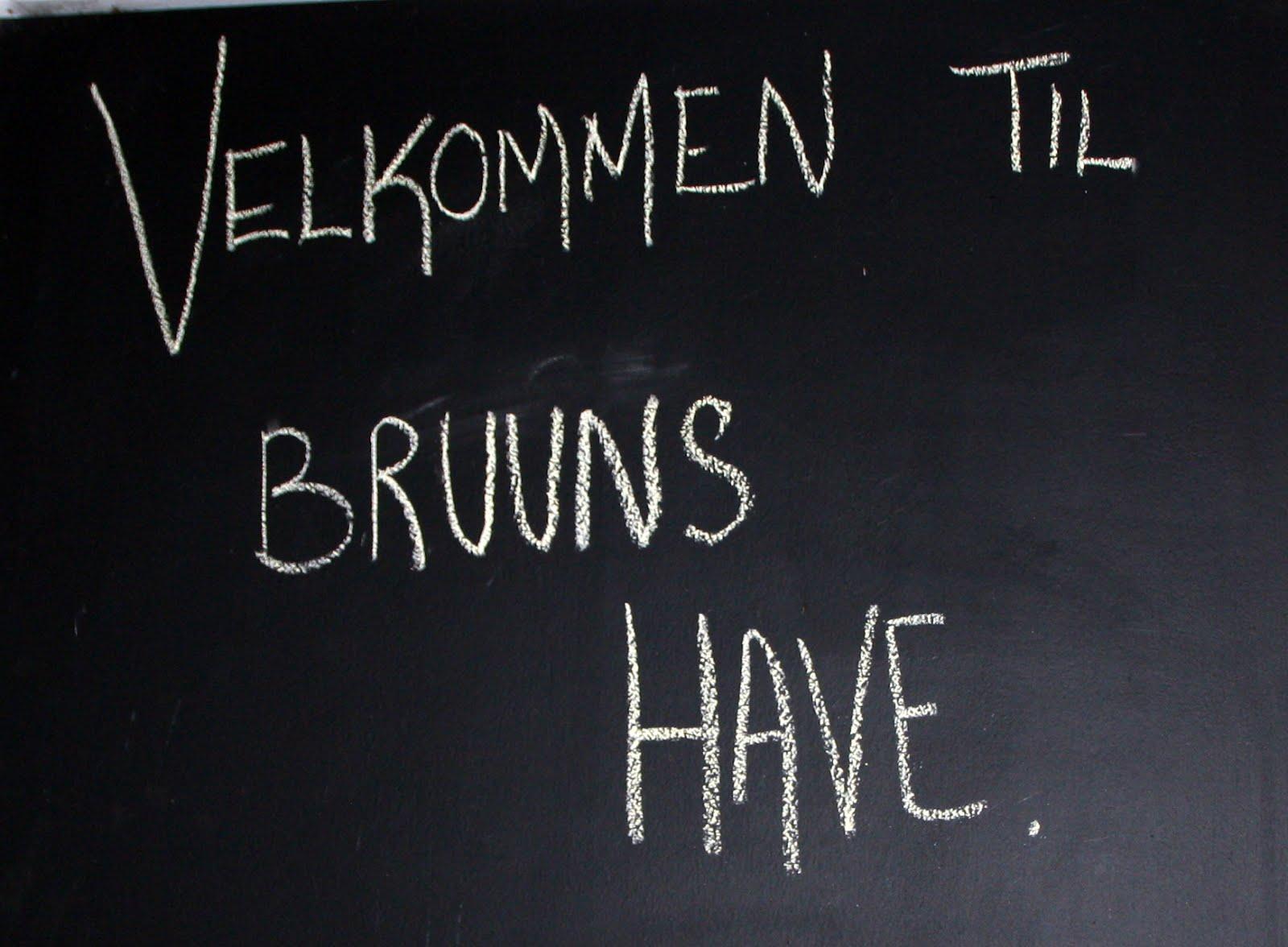 Besøg i Bruuns Have
