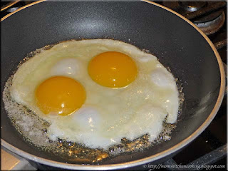 double yolk egg cooking