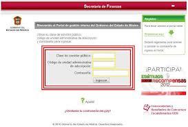 Portal de Gestión Interna del Gobierno del Estado de México