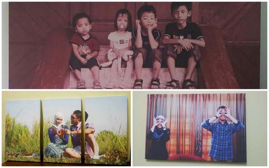 Poly-Cotton Canvas for Photo