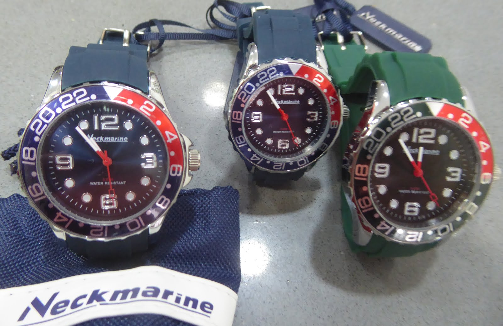Relojes Neckmarine
