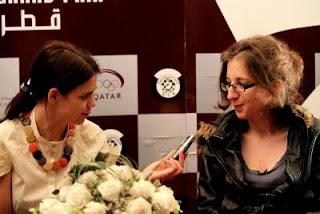 Echecs à Doha : Marie Sebag (FRA 2489) interviewée