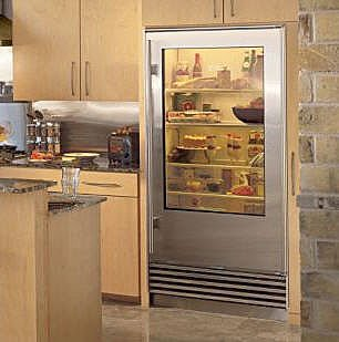 Mille Feuille Glass Door Fridge