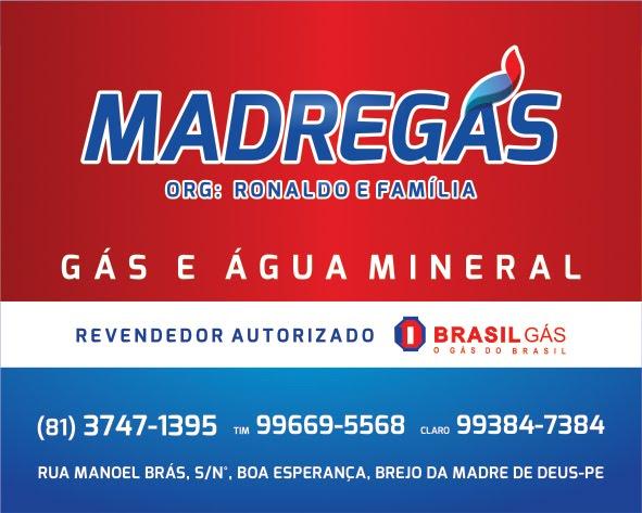 A distribuidora de gás e água mineral da família brejense