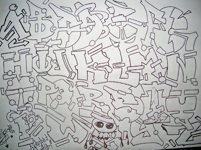 Draw Graffiti Alphabet Letters Different Styles New Graffiti Art