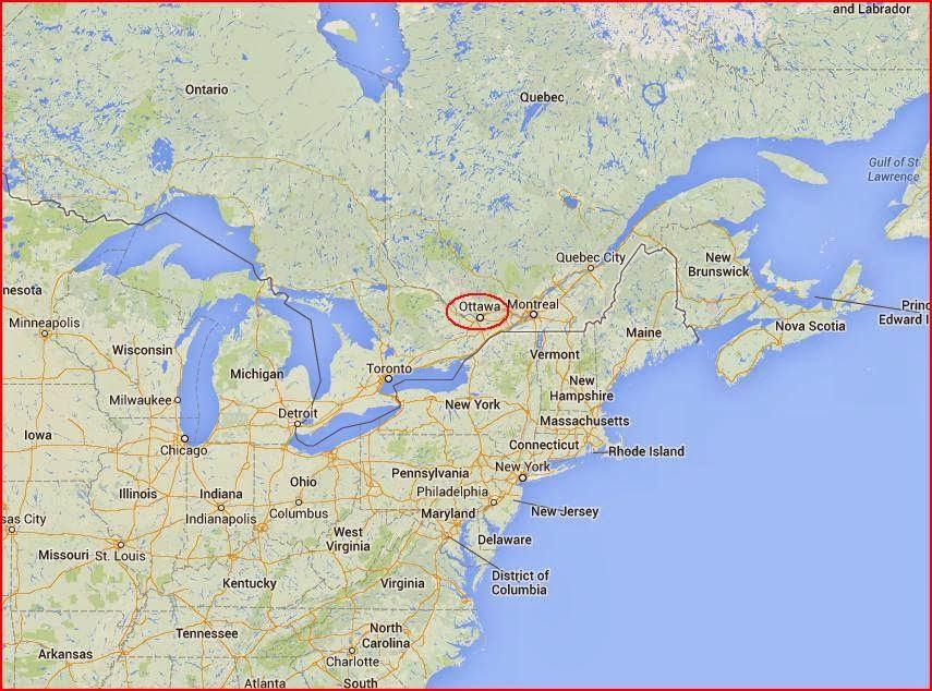 In Ontario Canada Where Is Ottawa Located - Where is ottawa