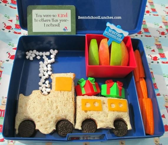 The Polar Espress School Lunch. Christmas.