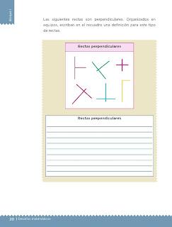 Apoyo Primaria Desafíos matemáticos 5to grado Bloque I lección 7 Paralelas y perpendiculares