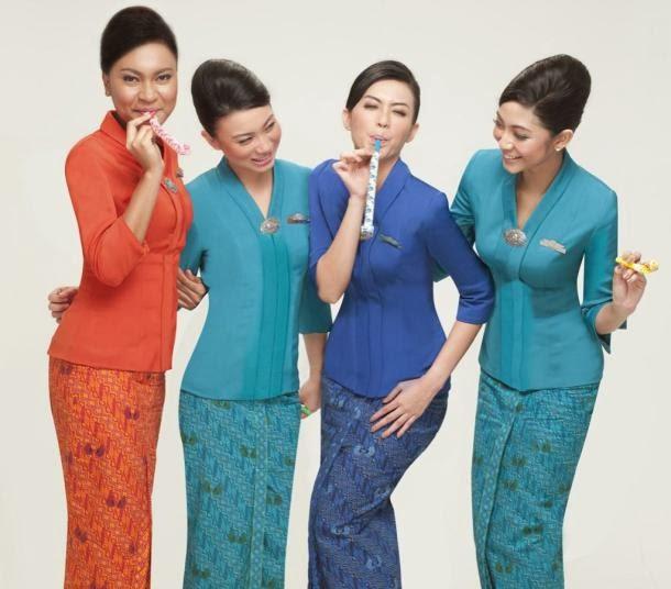 Pramugari Tercantik dan Terbaik garuda indonesia
