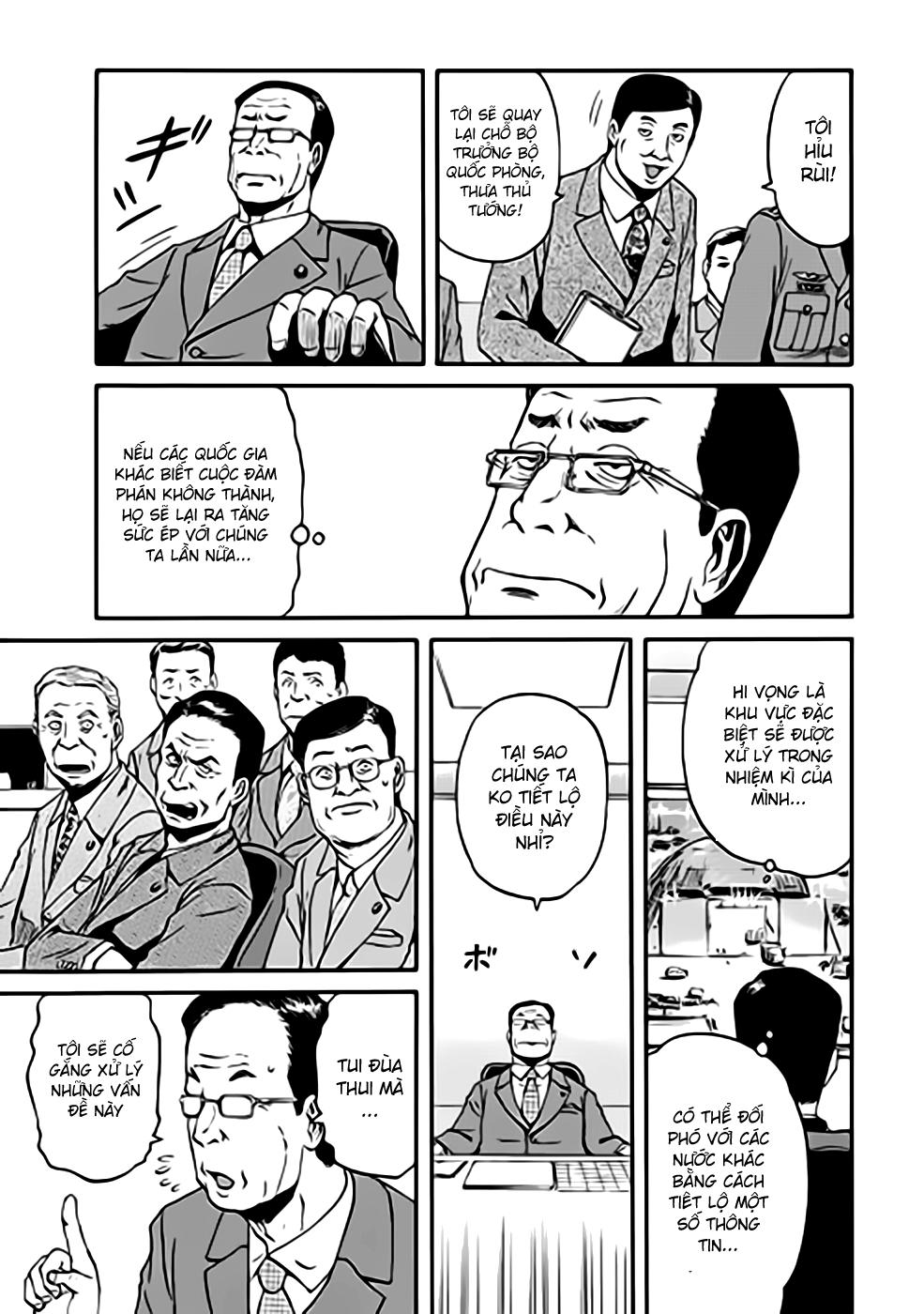 Gate – Jietai Kare no Chi nite, Kaku Tatakeri chap 35 Trang 25 - Mangak.info
