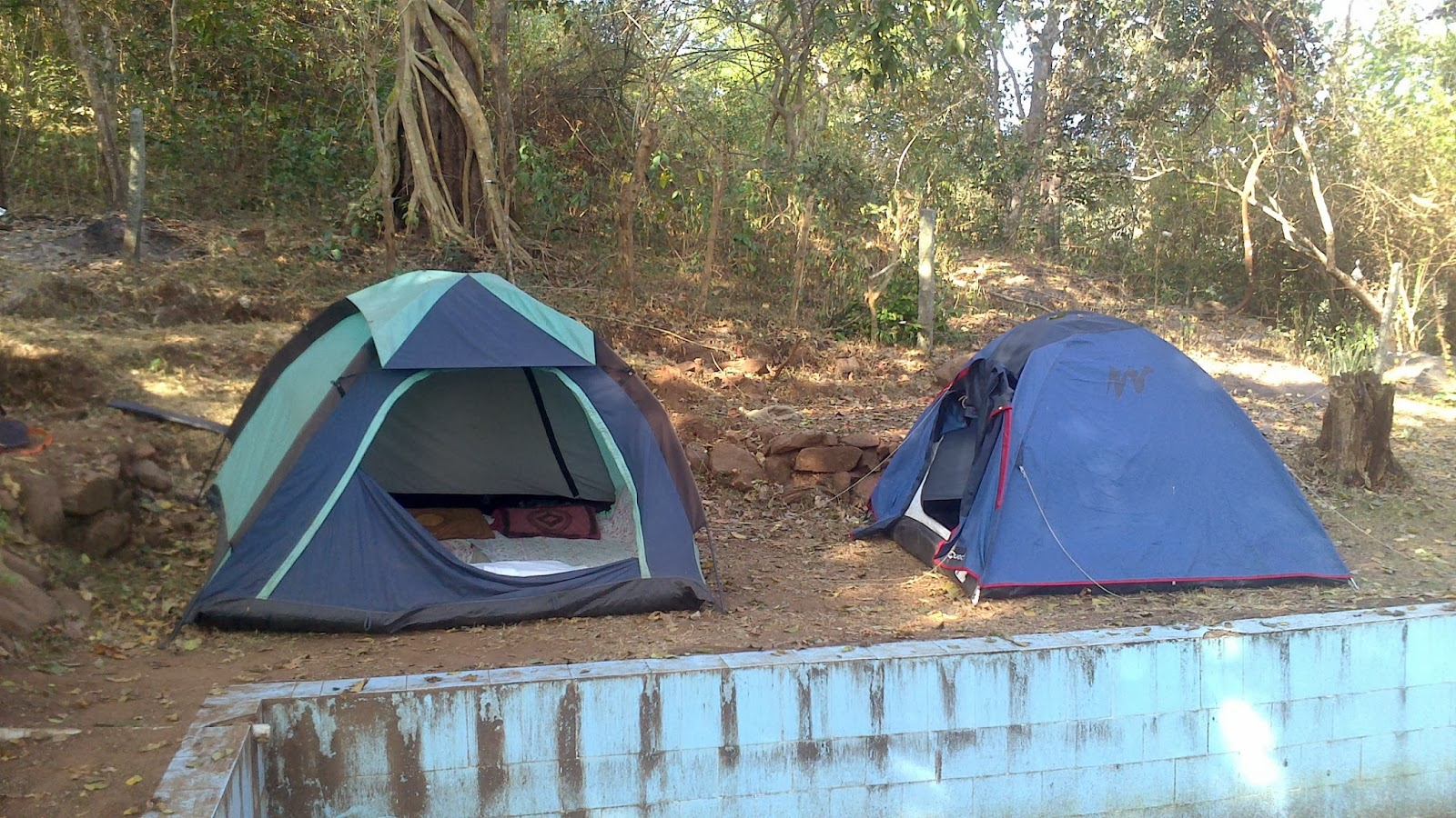 If you fancy spending a night in tents you can opt for tent stay. & Dandeli Jungle Camp-stay in the wild - eNidhi India