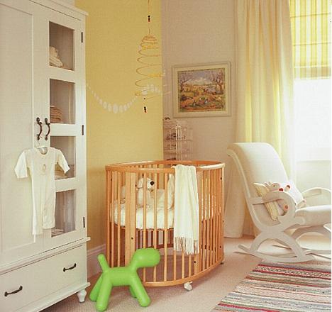 Decoraci n de habitaciones para beb s y el feng shui rec mara - Babyzimmer gestalten gelb ...